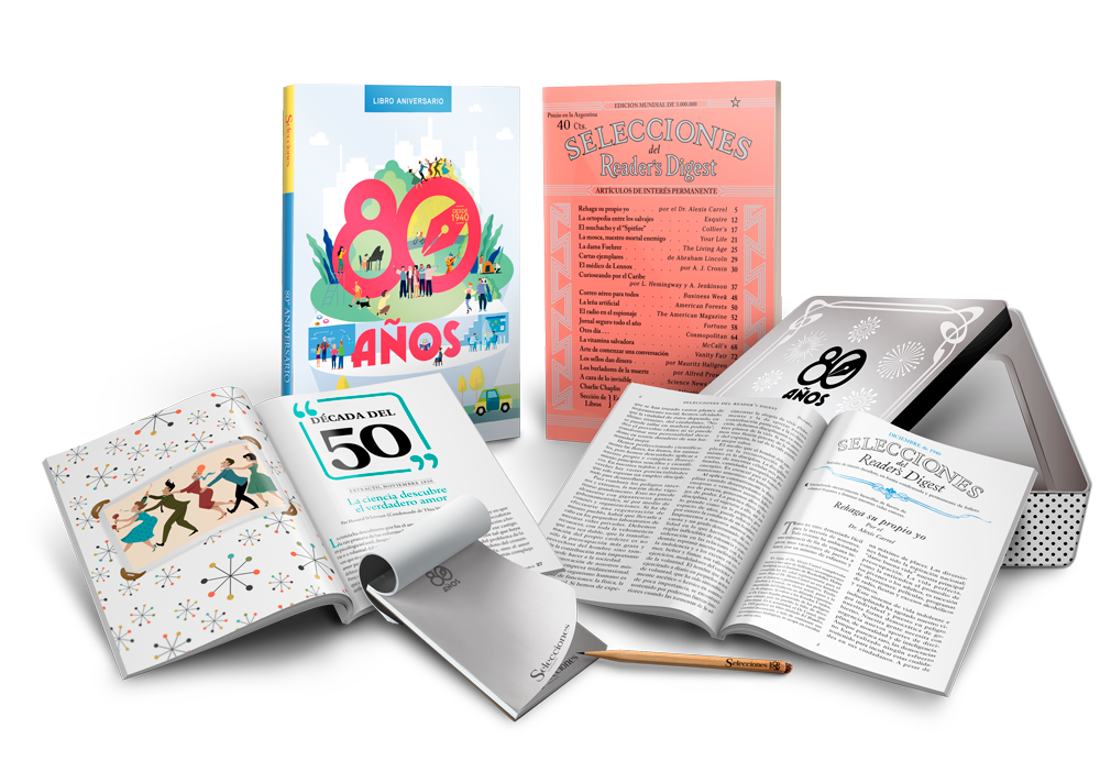 Pack de regalos 80 Aniversario Selecciones